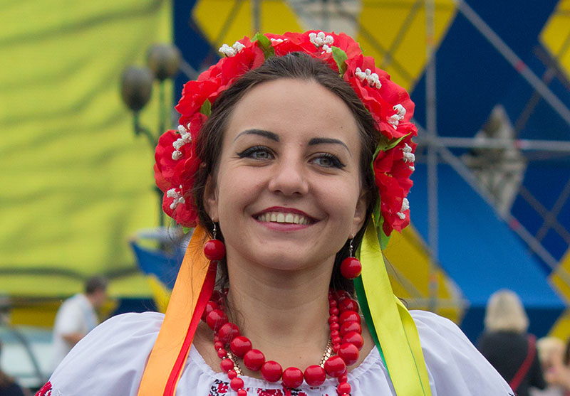 Ukrainian Girl Face Girls