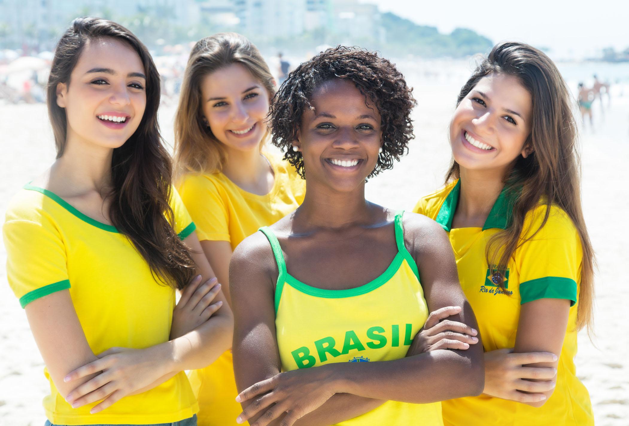 How are girls in Brazil. Brazilian Girls
